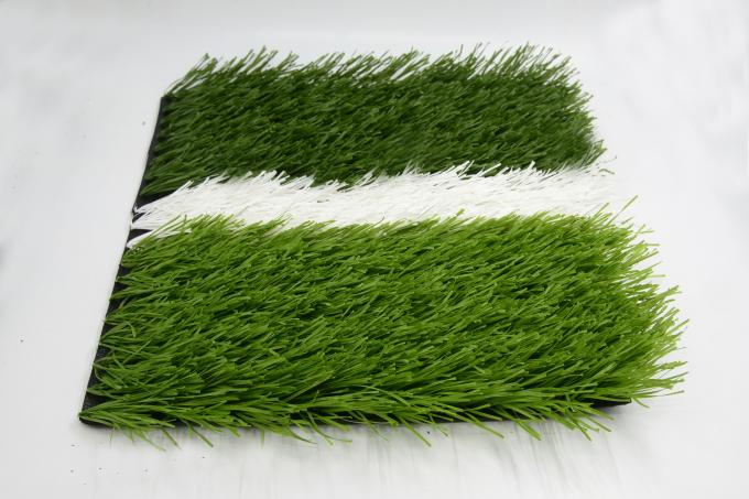 Dark Green Artificial Soccer Grass / Best Looking Artificial Grass Oem Service