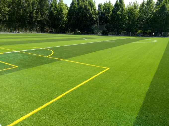 Soft Green Football Synthetic Grass 50mm Height Artificial Grass For Football Ground
