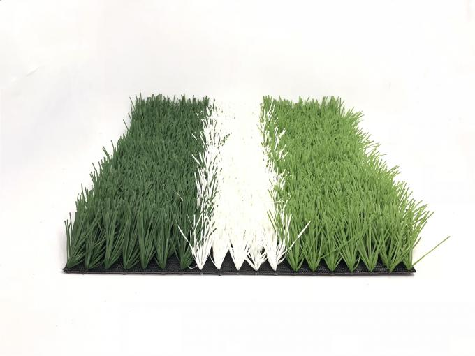 Safe Fire Resistant Artificial Grass Football Pitch Easy Installation