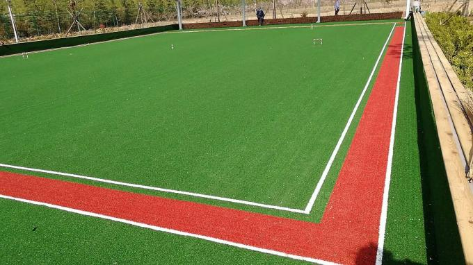 Sports Polyethylene Artificial Grass Luxury Artificial Turf For Residential Yards
