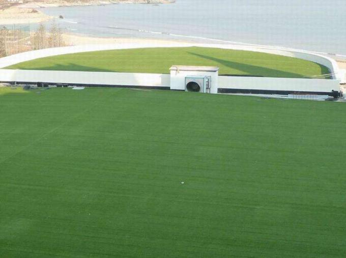Commercial Low Cost Artificial Grass On Garage Roof Oem Design