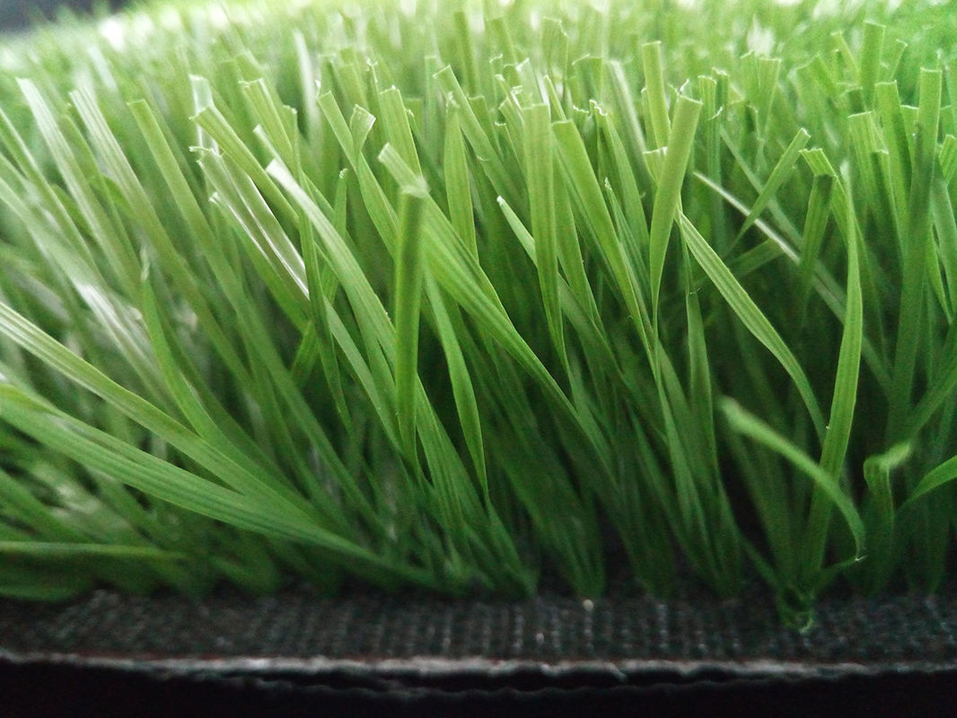 Comfortable Eco Friendly Artificial Grass Football Pitch 25-40 Mm Height