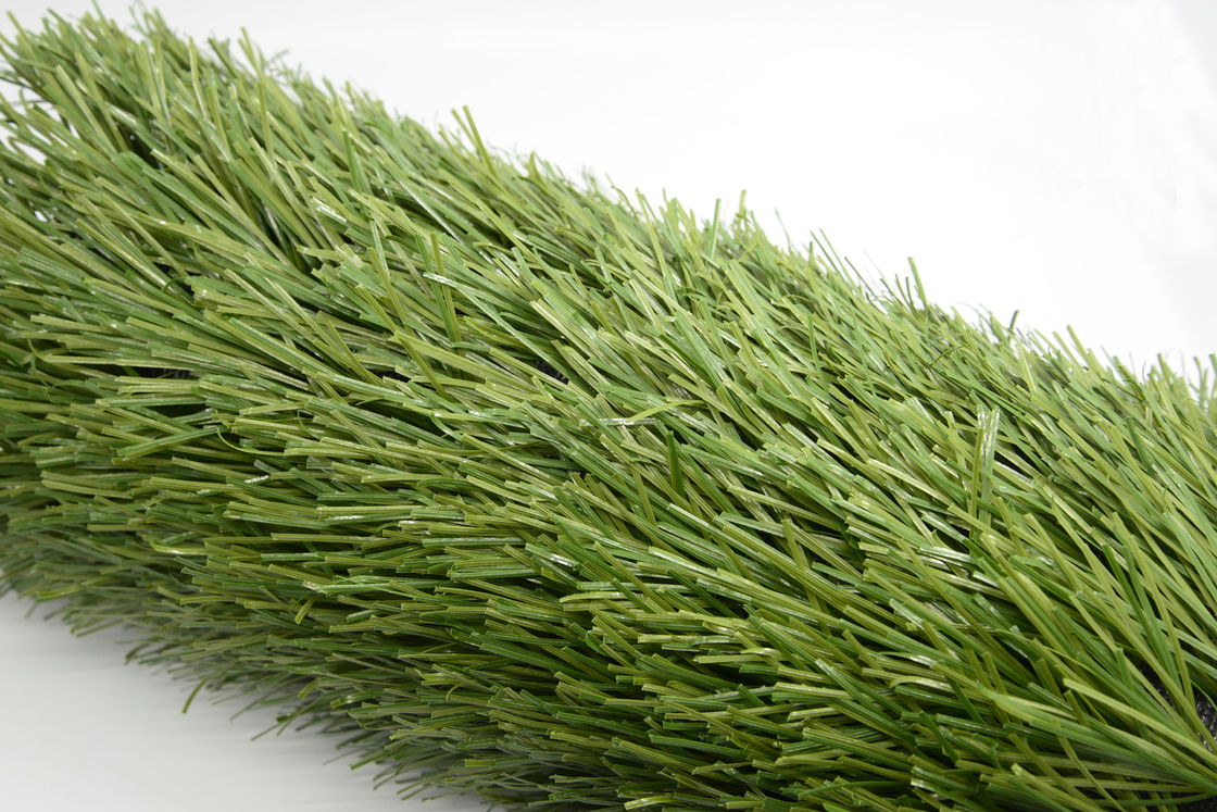 Natural Looking Fake Grass Soccer Field  Resistance To Ultraviolet