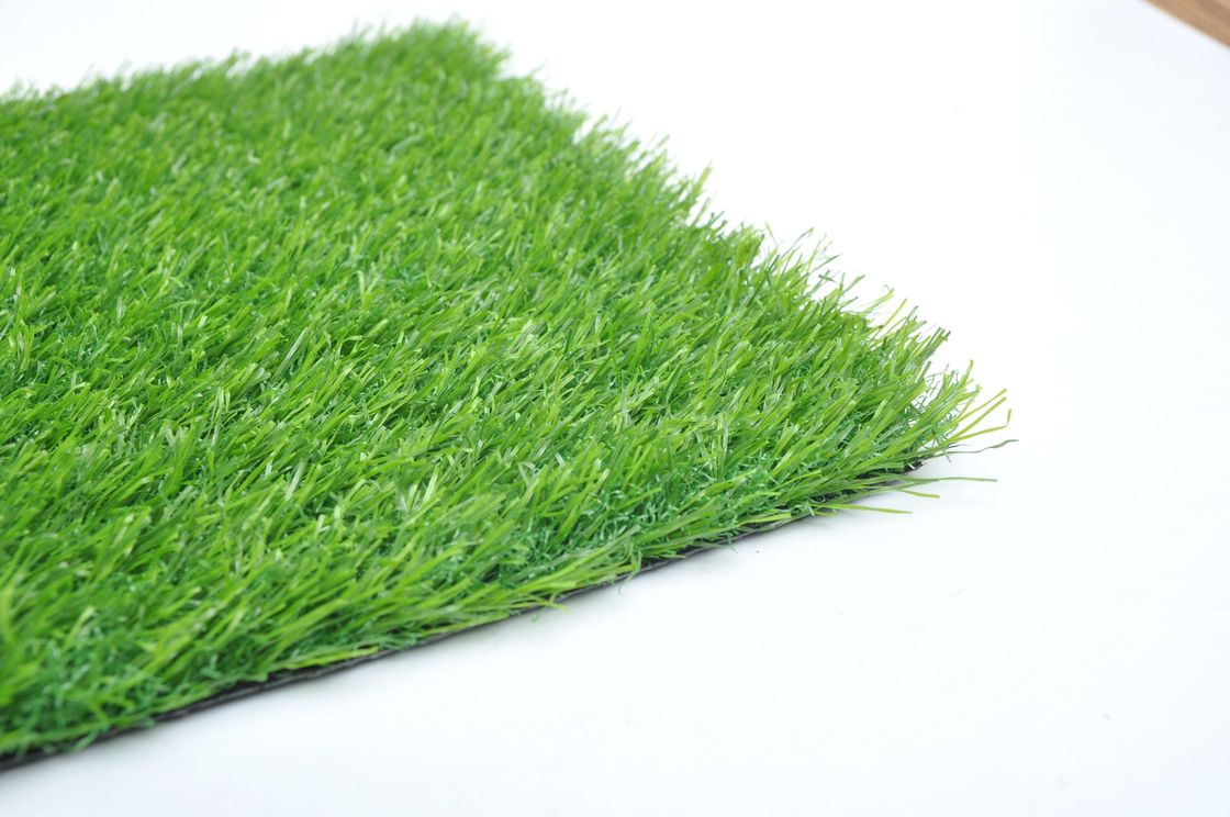 Commercial Natural Looking Balcony Synthetic Grass Customized Size