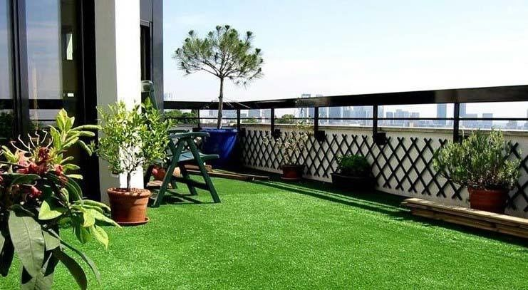 Low Cost Sports Synthetic Grass / Decorative Artificial Grass For Dog Run