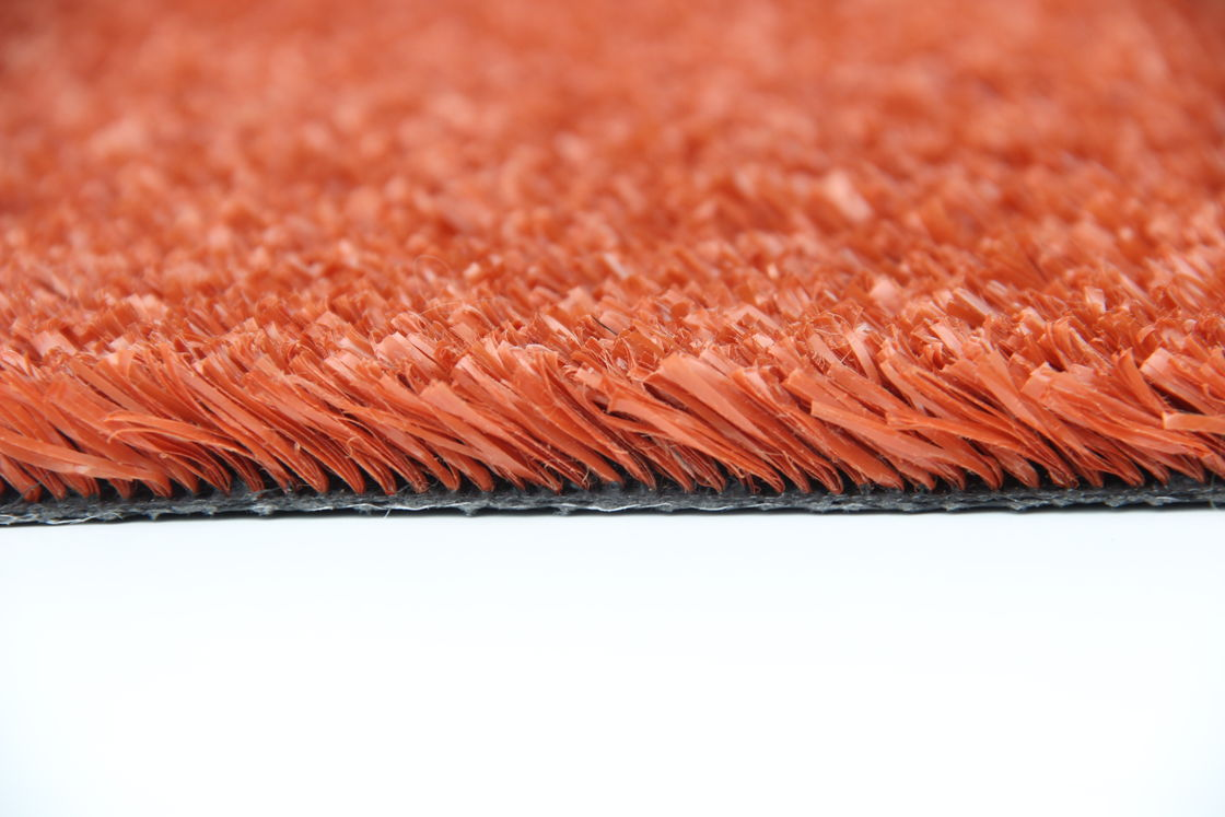 Fire - Retardant Soft Playground Artificial Grass Anti - Ultraviolet