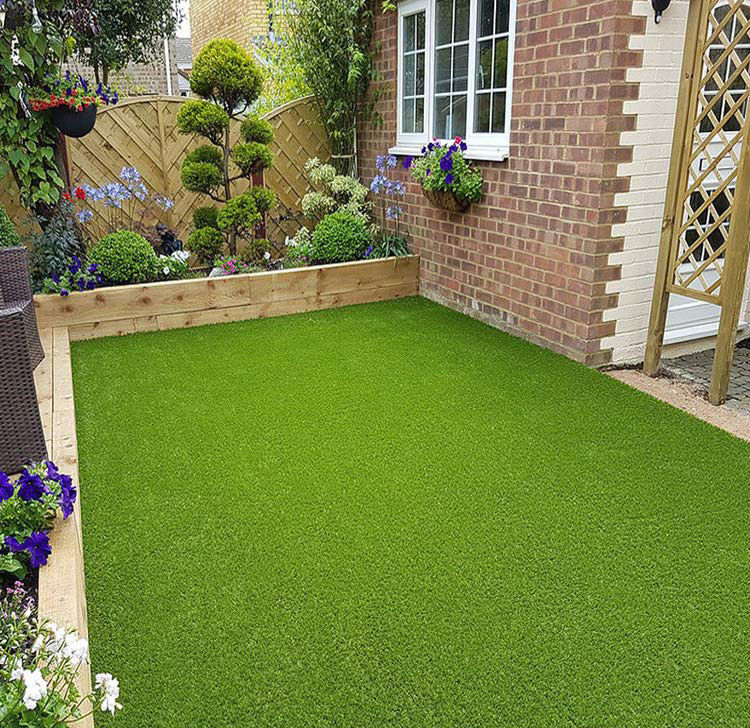 Lower Prices Garden Lawn Landscaping Synthetic Outdoor Turf Carpet Grass