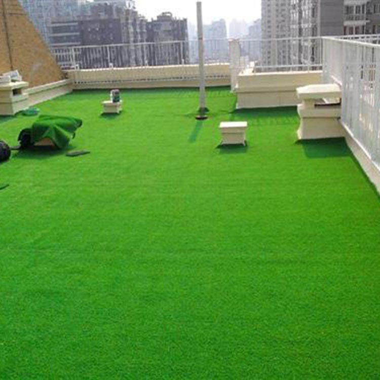Landscape Putting Green Plastic Grass For Garden , Synthetic Turf Artificial Grass