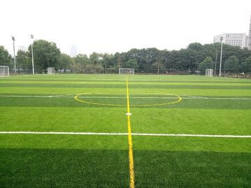 China Artificial Turf On The Football Field Enhances The Drainage And Uprightness Of The Lawn factory