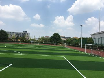 China Artificial Lawn Of Football Field Without Filling  , Excellent Wear Resistance , Long Using Life , Beautiful Color factory