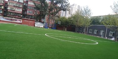 China Wear Resistance Football Synthetic Grass  For Playground Long Using Life factory