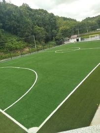 China Nature Looking Green Football Synthetic Grass Realistic Artificial Grass For Football Ground factory