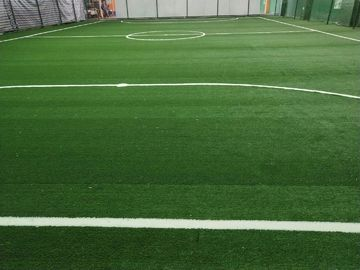 China Soft Green Football Synthetic Grass 50mm Height Artificial Grass For Football Ground factory
