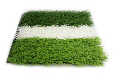 Eco - Friendly Football Synthetic Grass Soccer Field Customized Design