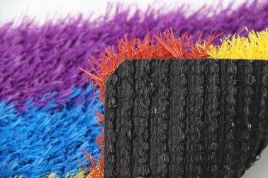 Outdoor Polyethylene Coloured Artificial Grass Synthetic Lawn Turf