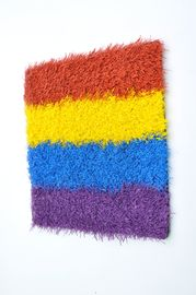 Colorful Patterned Artificial Grass Wholesalers Grass Turf Easy Installation