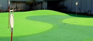 Professional Natural Green Golf Artificial Turf  Customized Size Easy To Maintain