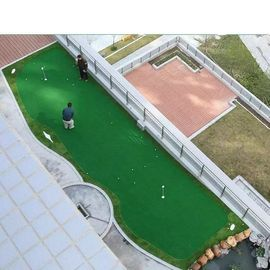 China Polyethylene Low Cost  Artificial Golf Turf Grass Synthetic Golf Green factory