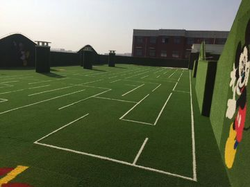 China Recycle Hockey Artificial Turf Soft Synthetic Grass For Sports Field factory