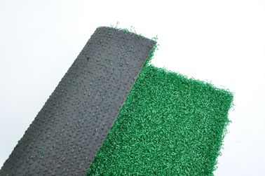 Custom Playground Synthetic Grass / Striped Artificial Grass For School Playground
