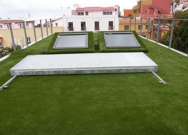 Eco - Friendly Roof Artificial Grass Easy Installation And Maintanance