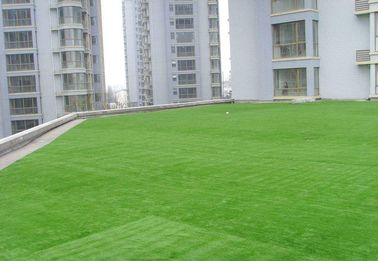 Custom Nature Green Roof Artificial Grass Wear Resistance Long Service Life
