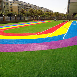 China Decorative Custom Artificial Turf For Children'S Play Area Good Water Permeability factory