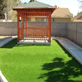 China Outdoor Green Residential Artificial Grass Artificial Turf For Yard factory