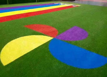 China Professional Customized Design Artificial Plastic Grass / Synthetic Turf factory
