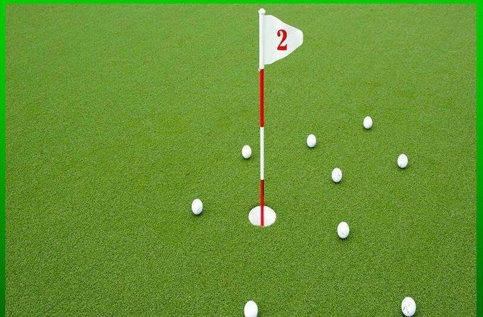 Commercial Eco - Friendly Artificial Grass For Golf Putting Green
